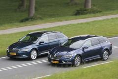 Skoda Superb Combi vs. Renault Talisman Estate