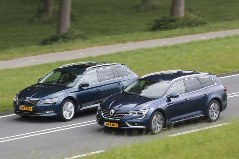 Skoda Superb Combi vs. Renault Talisman Estate