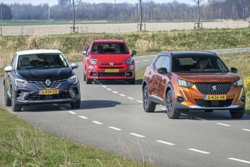 Fiat 500X - Peugeot 2008 - Renault Captur - Triotest