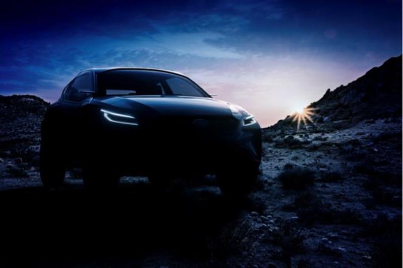 Subaru Viziv Adrenaline Concept teaser