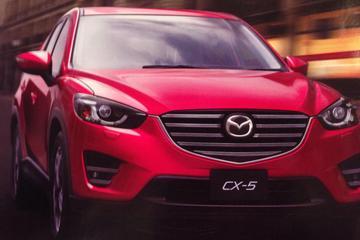 Mazda CX-5 facelift belandt te vroeg op internet