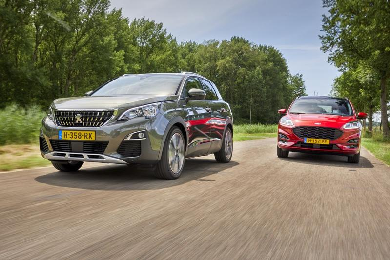 Peugeot 3008 vs. Ford Kuga - Dubbeltest