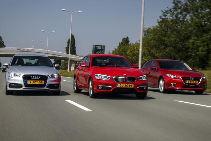 Mazda 3 - BMW 116i - Audi A3 Sportback