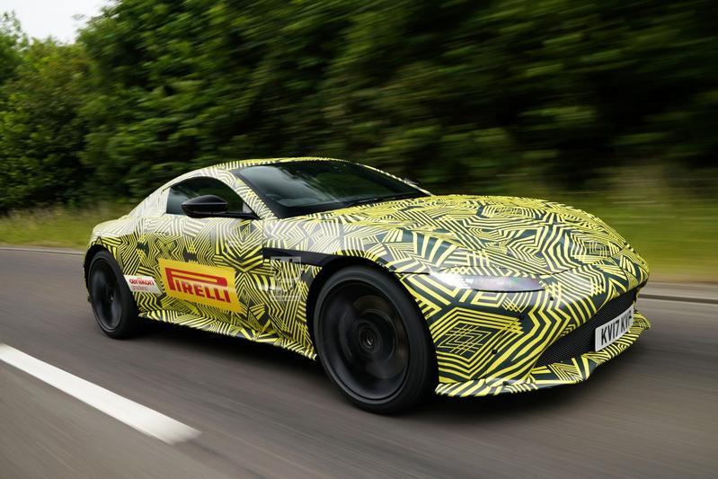 Opvolger Aston Martin Vantage in beeld