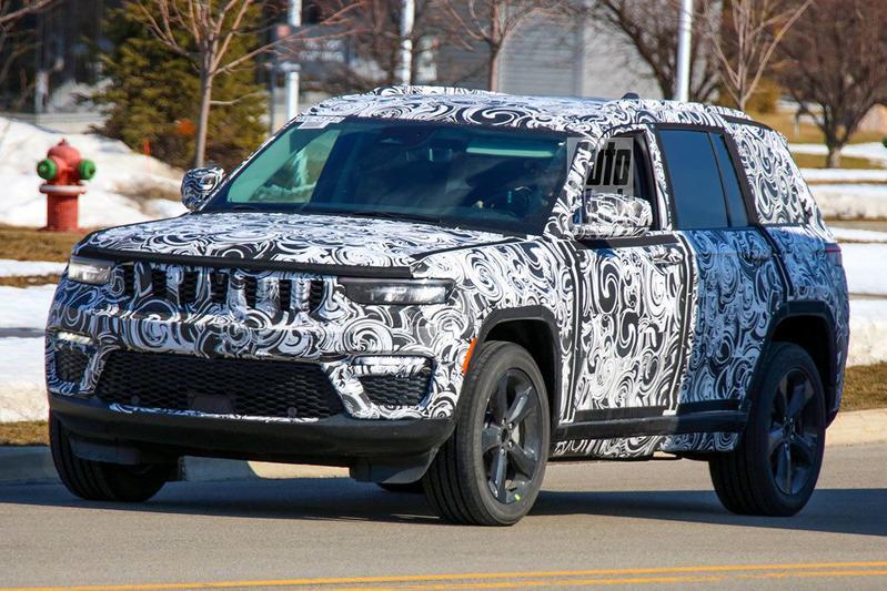 Spyshots Jeep Grand Cherokee