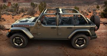 Jeep Wrangler krijgt 'halve portieren'