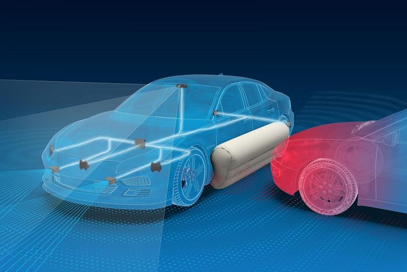 Externe zij-airbag ZF