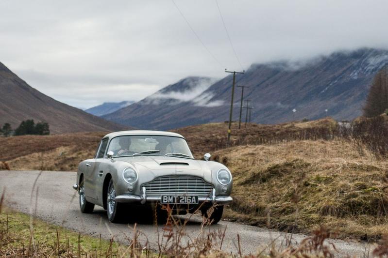 Aston Martin blaast DB5 nieuw leven in