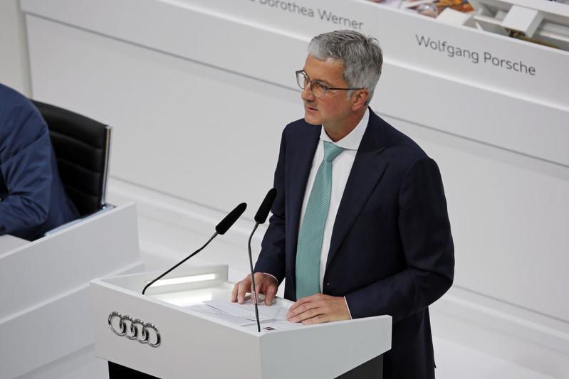 Rupert Stadler Audi AG CEO