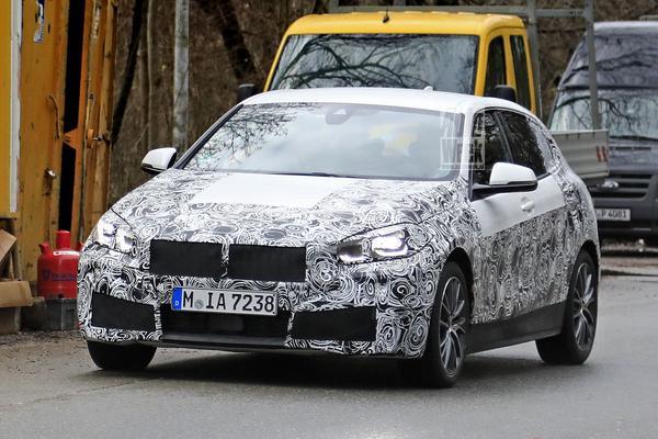 Gesnapt: nieuwe BMW 1-serie