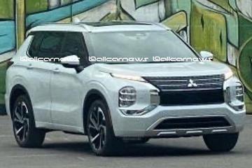 Nieuwe Mitsubishi Outlander gelekt