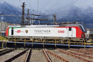Lamborghini kiest voor de trein