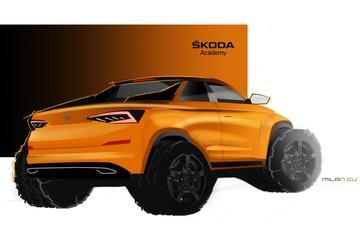 Skoda komt met Kodiaq Pick-up Concept