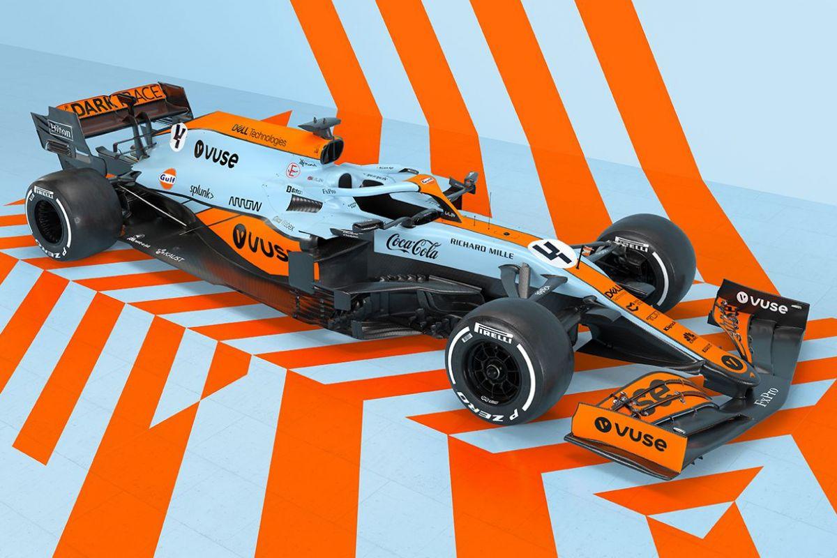 McLaren MCL35M F1 Gulf