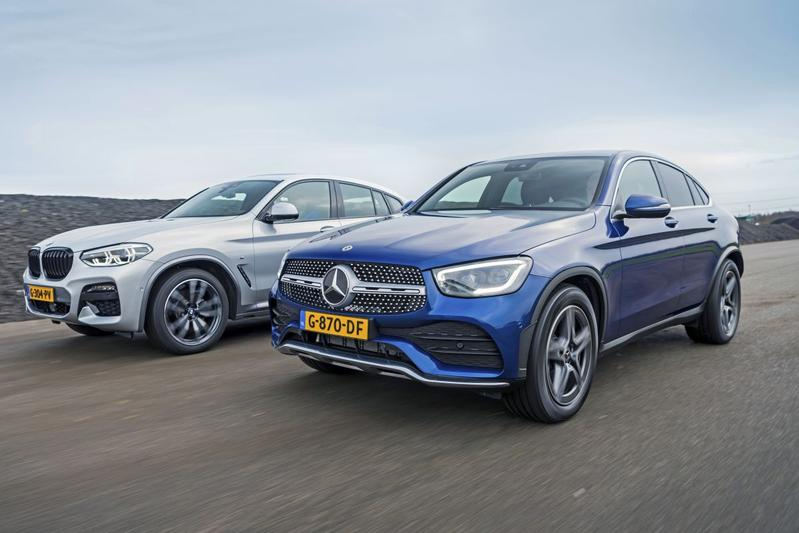 BMW X4 xDrive 20i – Mercedes-Benz GLC 200 Coupé - Dubbeltest