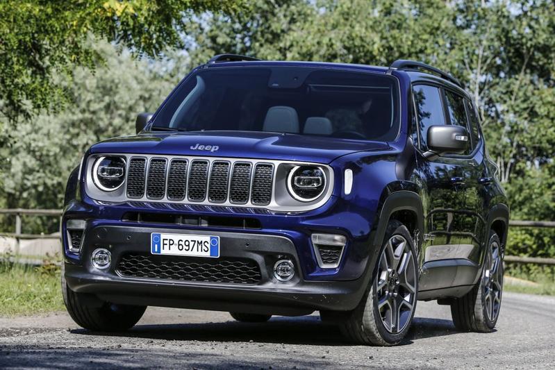 In beeld: facelift Jeep Renegade
