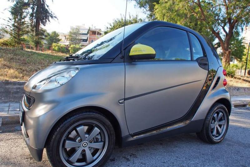 Smart fortwo coupé MHD edition greystyle 52kW (2010)