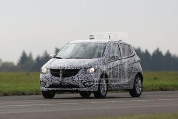 Opel Karl weer iets minder gecamoufleerd