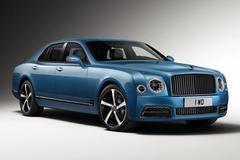 Bentley Mulsanne Design Series naar Frankfurt