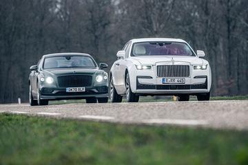 Rolls-Royce Ghost ontmoet Bentley Flying Spur