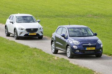 Fiat 500X vs. Mazda CX-3