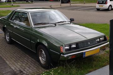 In het wild: Mitsubishi Galant Sapporo (1978)