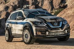 Nissan X-Trail als Millennium Falcon