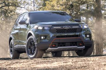 Ford Explorer als ruige Timberline