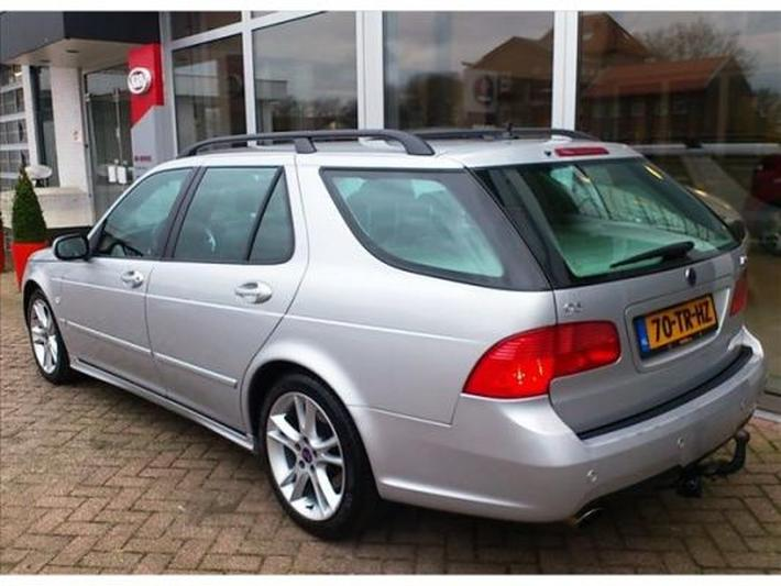 Saab 9-5 Sport Estate 2.3 Turbo Aero (2007)