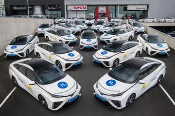 35 keer Toyota Mirai voor Nederlandse taxivloot
