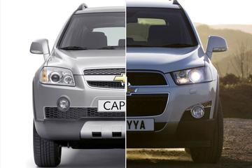 Facelift Friday: Chevrolet Captiva