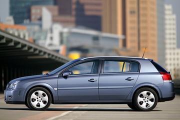 Afgestoft: Opel Signum