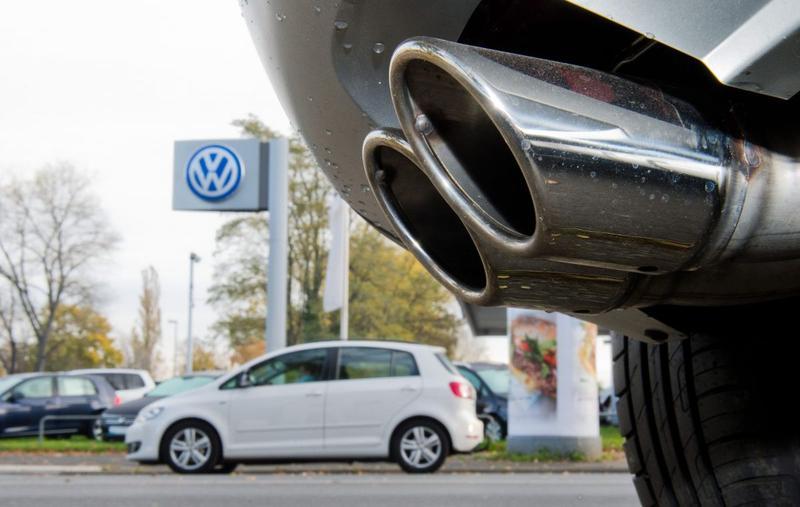 Volkswagen uitlaat (foto ANP)