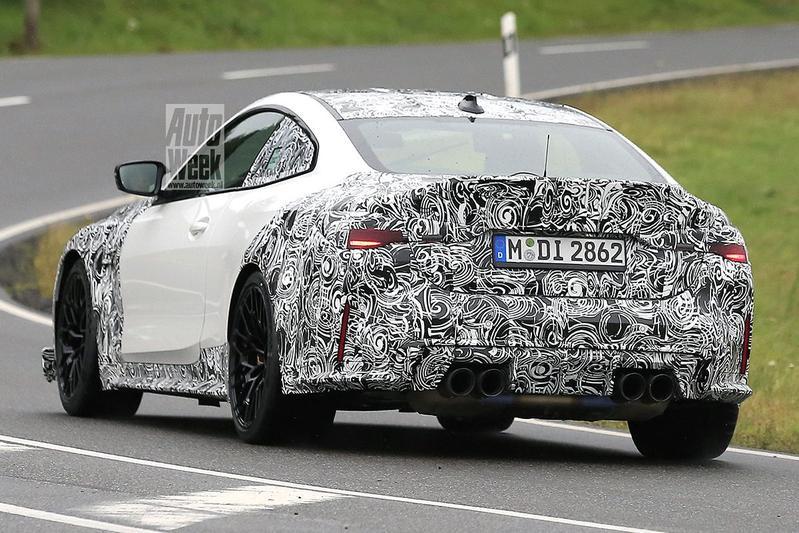 Spyshots BMW M4 CSL