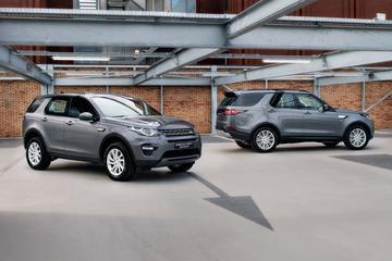 Land Rover Discovery (Sport) op grijs kenteken