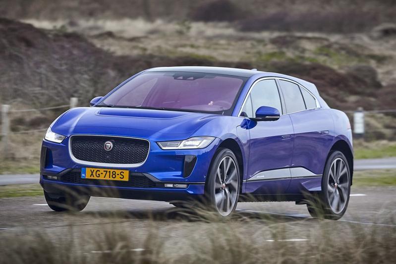 Jaguar I-Pace elektrische auto EV