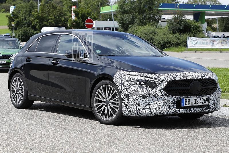 Spyshots Mercedes-Benz A-klasse