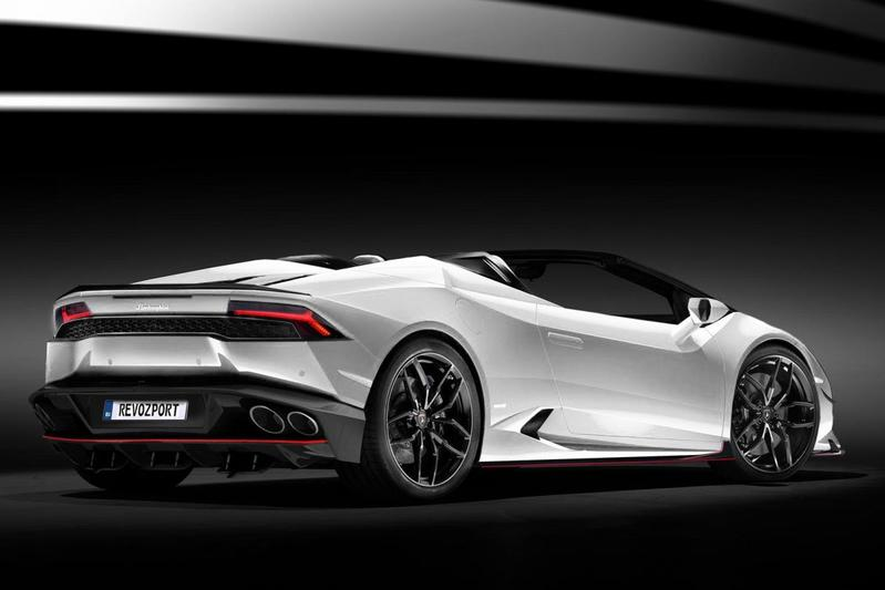 Revozport geeft Lamborghini Huracan Spyder 700 pk
