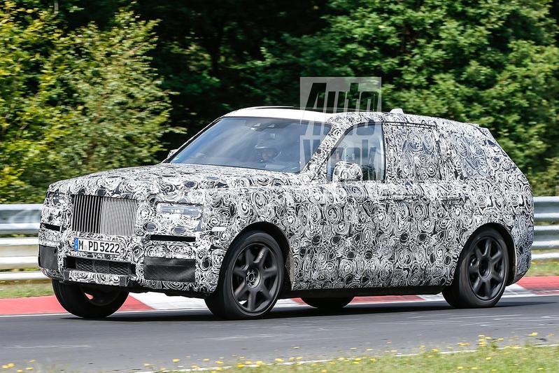 Rolls-Royce Cullinan nadert productiefase