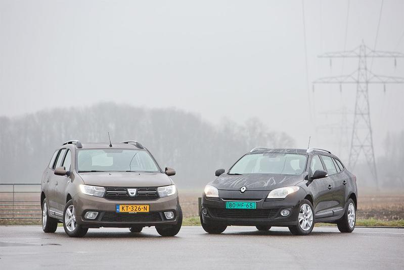 Renault Mégane vs. Dacia Logan MCV - Dubbeltest