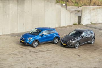 Fiat 500X vs. Mazda CX-3 - Dubbeltest