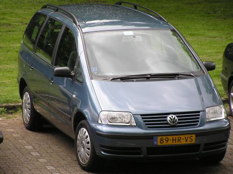 volkswagen sharan 2 0 trendline 2001. Black Bedroom Furniture Sets. Home Design Ideas