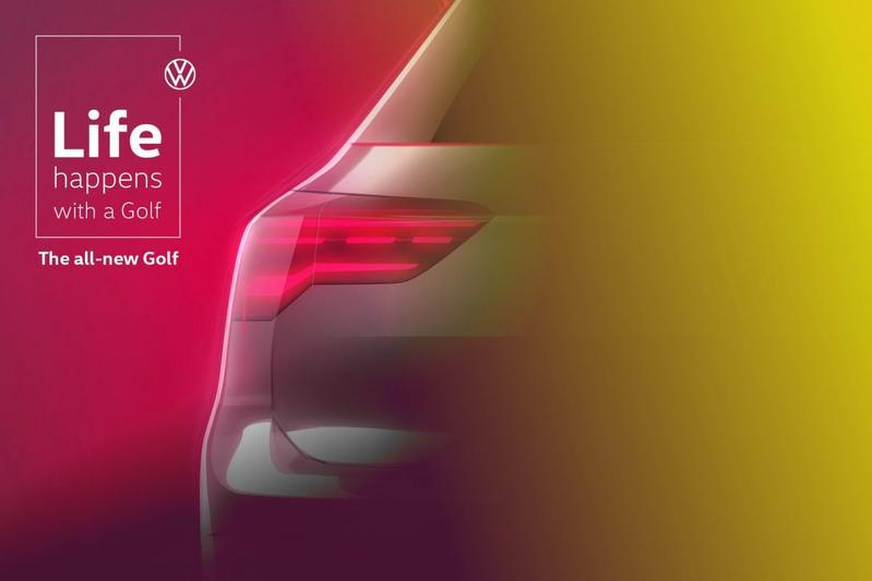 Volkswagen Golf teaser