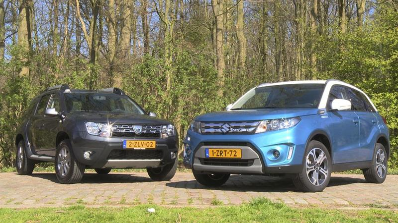 dubbeltest suzuki vitara vs dacia duster vergelijkende test. Black Bedroom Furniture Sets. Home Design Ideas