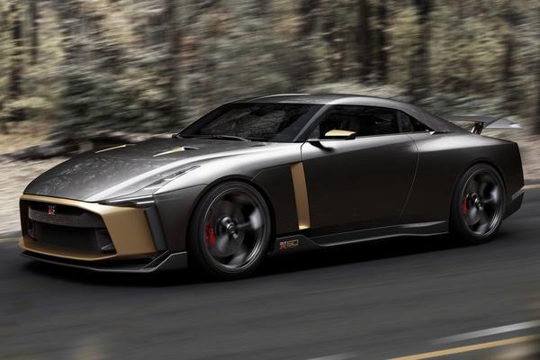 Nissan GT-R50 in productie