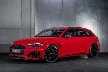 Abt RS4-S is afgetrainde Audi RS4 Avant