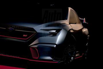 Subaru teaset Viziv Performance STI Concept