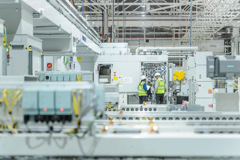 Motorenfabriek Ford in Dagenham