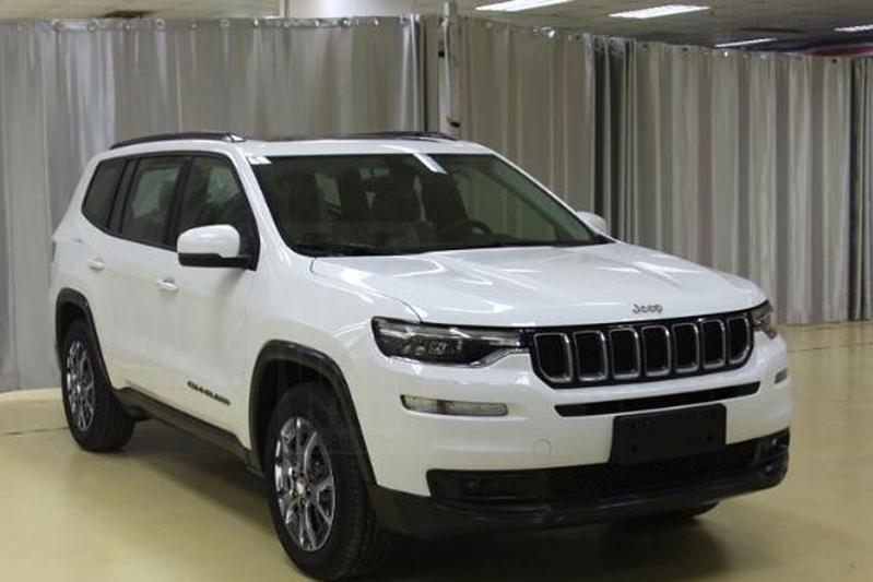 Jeep Grand Commander in China verschenen