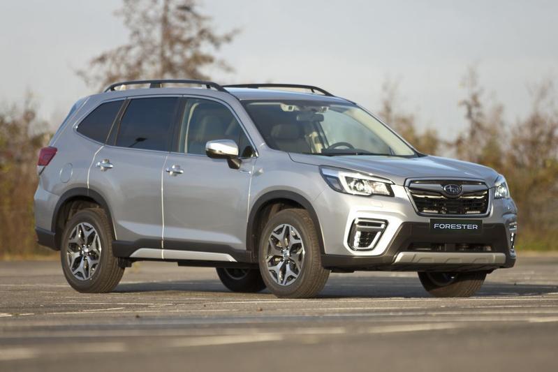 Subaru Forester Van